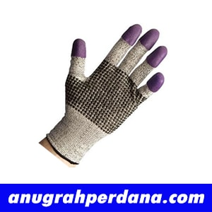 97430 Jackson G60 Purple Nitrile Cut Resistant Gloves Size 7 (S)